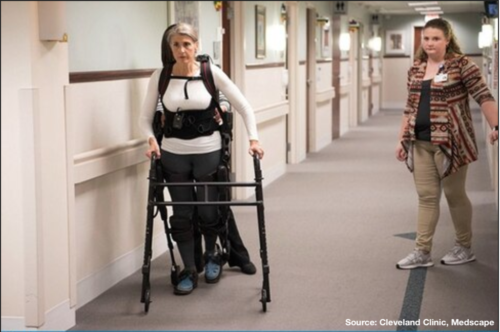Researchers explore the use of exoskeleton in physical therapy