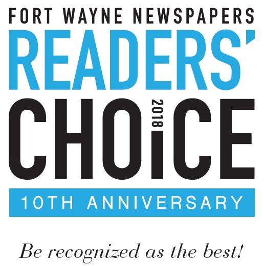 Fort Wayne Reader's Choice Award Winner in 2018!