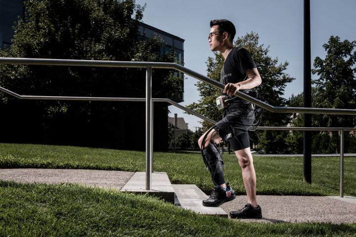 Exosuit Improves The Walking Potential of Stroke Patients