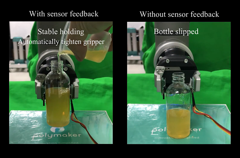 Magnetic Skin Sensor Improves Prosthesis Movement
